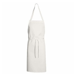 Plain White Industrial Aprons, for Laboratory