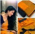 indian wear ht fixing diamod work fancy saree with low price