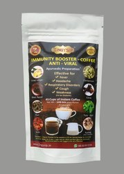 Zingysip  Immunity Booster Coffee ( 100 Gm.For 45 Cups) - Ayurvedic Herbs  With  Vitamin a & D