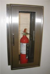 Fire Extinguisher Cabinets Cleanroom