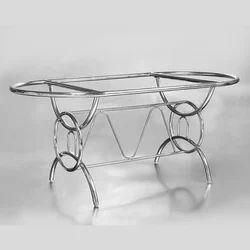4 X 3 Feet SS Center Table Frame