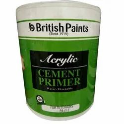 Oil Based Paint British Acrylic Cement Primer, Packaging Type: Bucket, Packaging Size: 4 L