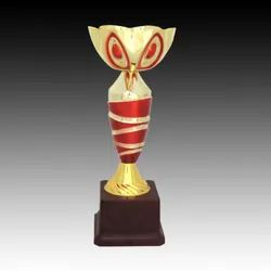 Red & Gold Metal Trophy