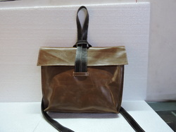 Single Handle Designer Leather Sling Bag