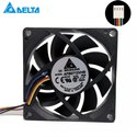 Delta Cooling Fan AFB0712VHB 12V 0.15A 4Wire 4Pin Connector 70x70x15mm DC Brushless PWM Cooling Fan