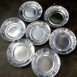 6 to 10 Inch Silver Disposable Paper Plate