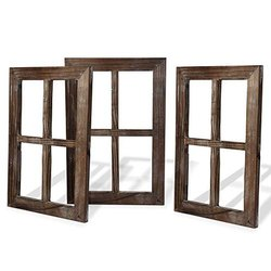Rectangular Wooden Window, Size/dimension: 4 X 3 Feet