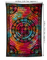 Multicolor Mandala Tie Dye Floral Printed Wall Tapestries