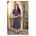 Ladies Designer Cotton Printed Kurtis