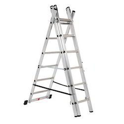 Telescopic Tower Workman Safe Manually Operated Ladder