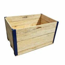 Rectangular Wooden Storage Crate