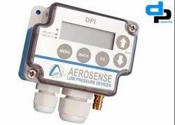 Aerosense Model DPT 2500-R8-3W Differential Pressure Transmitter Range 0-100 Pascal