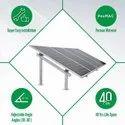 Concrete Pile Solar Structure