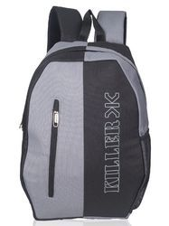 Black Grey Kepler College Laptop Backpack Bag