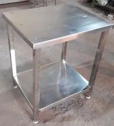 SS Table, Size: 23x28 Inches