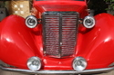 Morries Style Vintage Red Golf Car On Rental