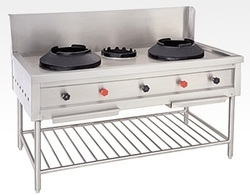 Two Burner Chinese Range