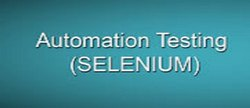 Automation Testing Using Selenium Webdriver
