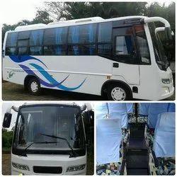 AC Seai Seat Bus租赁服务,座位容量:45至49人,靠近孟买