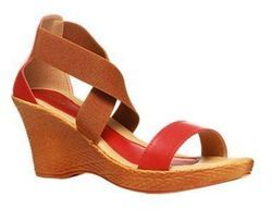 Bata Red Sandals For Women F761511000