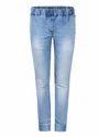 Park Avenue Woman Blue Contemporary Fit Jeans