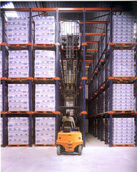COLD STORAGE PALLET RACKING SYSTEM