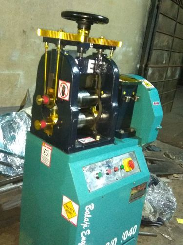 Gold Silver Coin Making Machinery - Gold Sheet Rolling