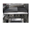 Stainless Steel 28 X 15 X 6 Inch (w X D X H) Griddle Plate With Hot Plate, Industrial Ovens