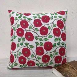 Block Printed Cotton Cushion Cover
