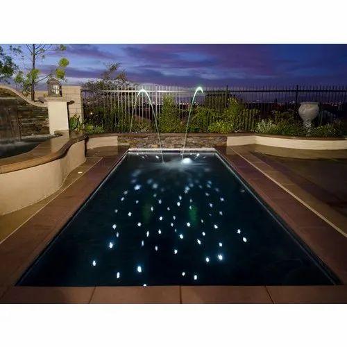 Fiber Optic Star Pools Light