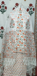 Vinayakam Exports Block Printed Cotton Suits Fabric