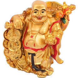 Feng Shui Laughing Buddha with All Symbols