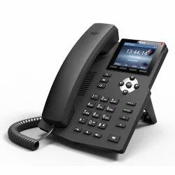 Black Fanvil X6 IP Phone