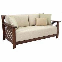Brown Wooden Furniture Sofa, Living Room