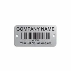 Barcode Aluminum Tag
