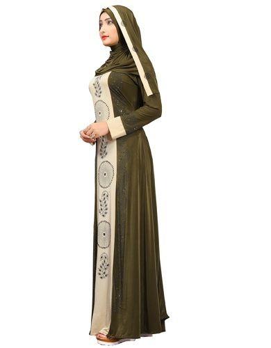 9744792bfa65 Dubai Style Diamond Stone Work Abaya Designer Burkha, Rs 1375 /piece ...
