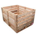 Rectangular Wooden Crate Box