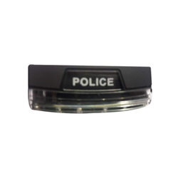 Transparent Police LED Shoulder Light