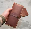 Techcraft Couture Brown Ladies Leather Wallet, Compartments: 6