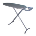 Easton Black, Silver Ironing Boards Center, Size: 1400mm (l) X 340mm(w), For Hotels