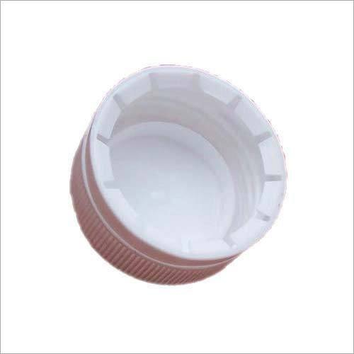 White Round Plastic Water Bottle Cap