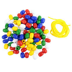 easyteach Counting Beads Oval