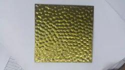 SS Decorative Golden Sheet