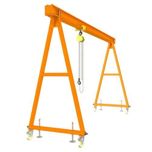 Yellow A Frame Gantry Crane