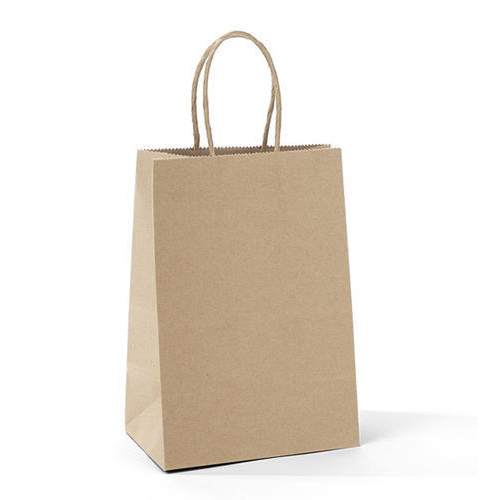 Brown Plain Paper Bag, Capacity: 1kg