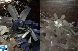 Aluminum Impeller 8 Blade Dia 560 mm