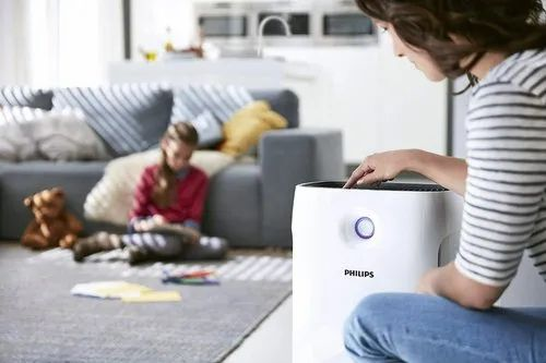 ABS Plastic Philips 2000 Series AC2882/20 56-Watt Air Purifier for ...