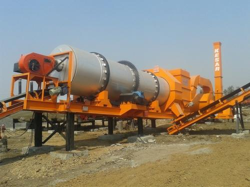 Asphalt Drum Mix Type Hot Mix Plant, Capacity: 40 To 120 TPH