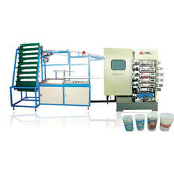 Multi-Colour Cups Printing Machine