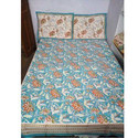 Sagai Block Print Single Bedsheet